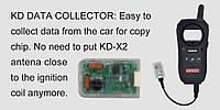 KD Data Collector предназначен для перехвата данных с антенны замка зажигания при копировании чипов на авто.