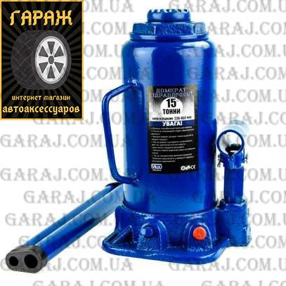 Домкрат бутылочный 15т 230/460мм коробка Vitol ДБ-15002
