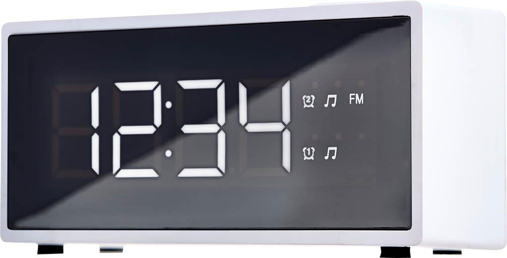 Радіо - Годинник ECG RB 040 White