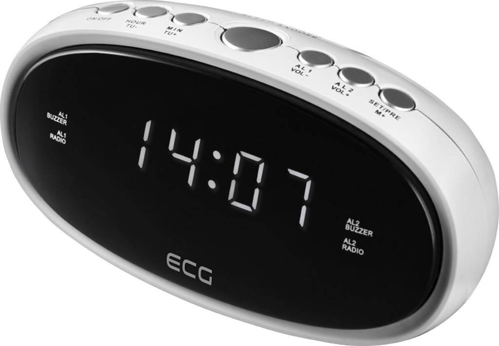 Радио - Часы ECG RB 010 White