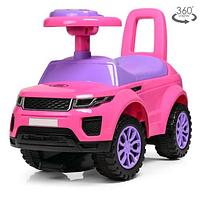 Детская каталка-толокар  HZ613W-8 розового цвета