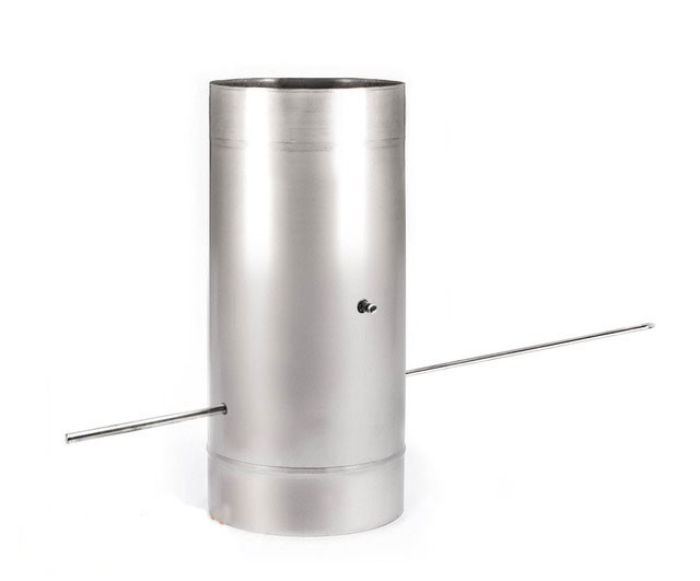 Дымоходная кагла с термоизоляцией к/к 1мм