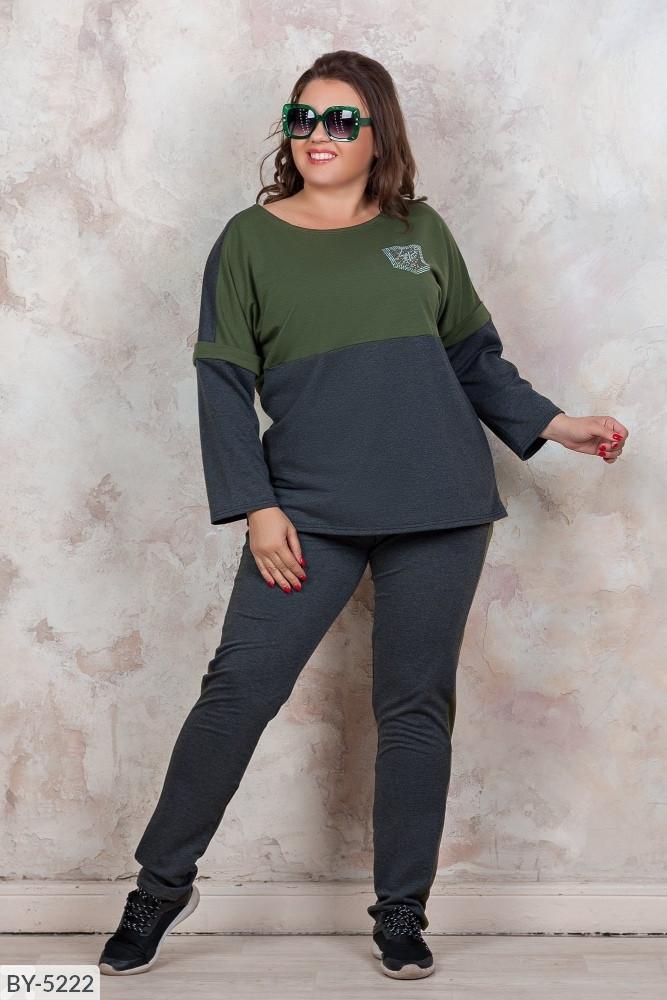 Спортивный  костюм    (размеры 50-60) 0215-34