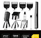 Машинка для стрижки волос аккумуляторная Dsp F-90030, фото 4