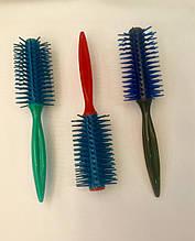 Расческа для волос круглая пластмассовые
