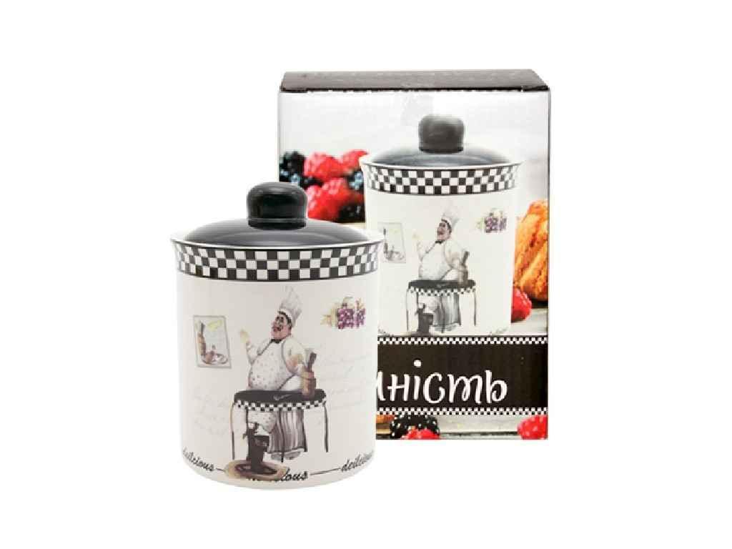 Ємність для сипучих продуктів 520мл Гурман арт.700-12-10 ТМSNT