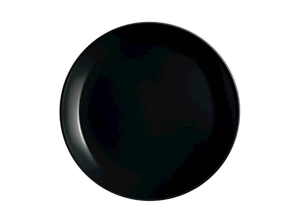 """Набор десертных тарелок """"LUMINARC"""" 19 см Diwali Black (6 шт в упаковке)"""