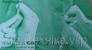 """Перчатки латексные """"Sempercare"""" (размер L, 100 шт/уп)"""
