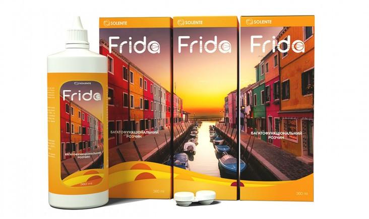 Раствор для контактных линз Solente FRIDA 100 ml
