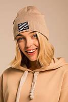 Стильная женская шапка бини