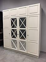 Шкаф с фасадами мдф и зеркалом, фото 1