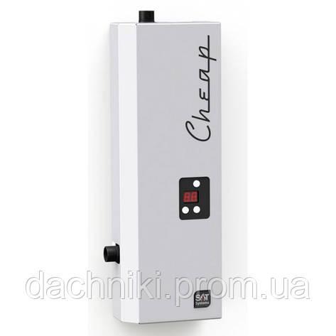 Бесшумный электрический котел SAT CHEAP 6 кВт 220/380В, фото 2