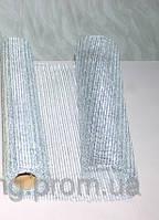 Металлическая сетка для упаковки цветов и подарков метал крупный