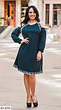 Стильное платье     (размеры 50-64) 0215-63, фото 3