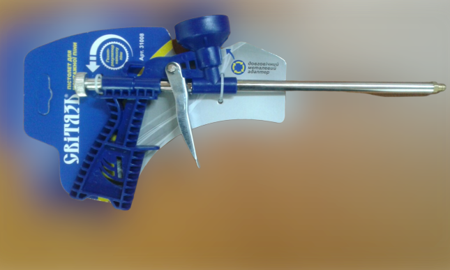 Пистолет  для монтажной пены Свитязь  FG-3108