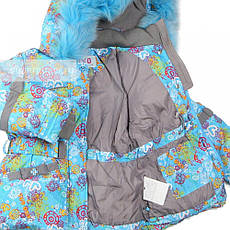 Детский зимний комплект для девочки Kiko 3341 |  92р. на пуху, фото 3
