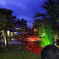 Уличный декоративный лазерный проектор laser light поворотная ножка Outdoor Snow flake light 85