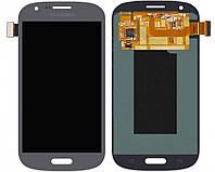 Дисплейный модуль (дисплей + сенсор) для Samsung Galaxy Express i8730 черный, оригинал