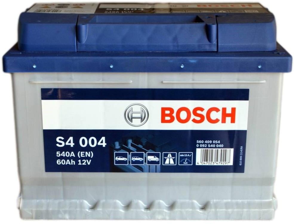 Bosch 6CT-60 S4 Silver (S40 040) Автомобильный аккумулятор