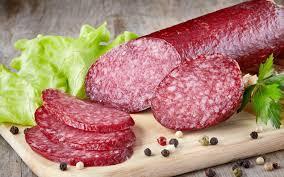 "Колбаса салями  сыро-вяленая копченая NITRAN""Нитран "" Viofel производство . Словакия"
