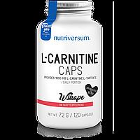 Л-карнитин Nutriversum WSHAPE L-Carnitine Caps, 120 caps