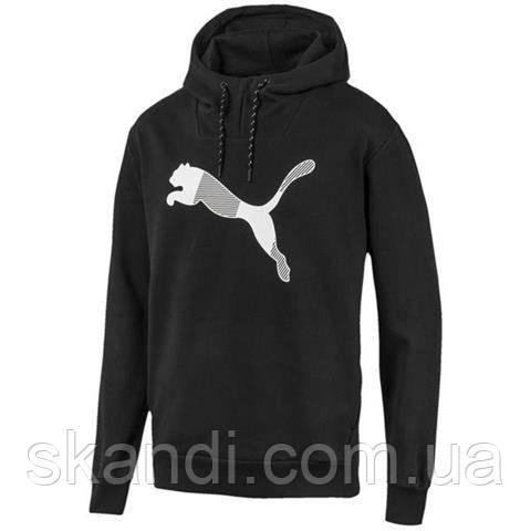 Толстовка мужская Puma Modern Sports Hoody FL черная 580527 01