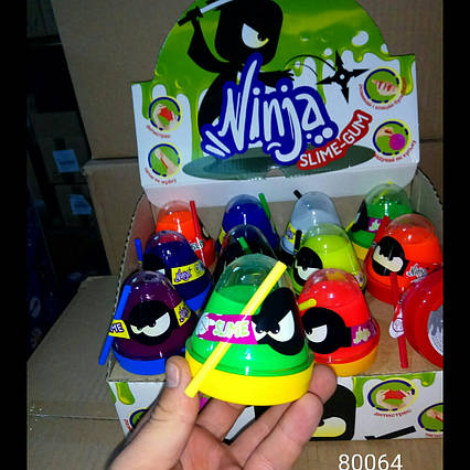 "Лизун-антистресс ""Mr. Boo: Ninja"" 80064"