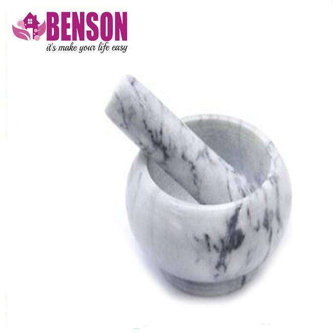 Мраморная кухонная ступка с пестиком Benson BN-11