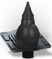 Антенный выход  WIRPLAST  для металлочерепицы УНИВЕРСАЛЬНЫЙ, фото 1