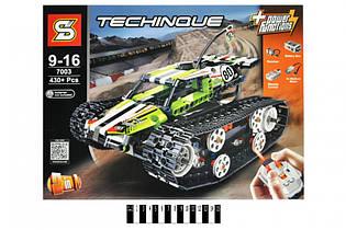 """Конструктор SY 7003 """"Скоростной вездеход"""", гоночная машина 2 в 1 на радиоуправлении, 430 дет., техник"""