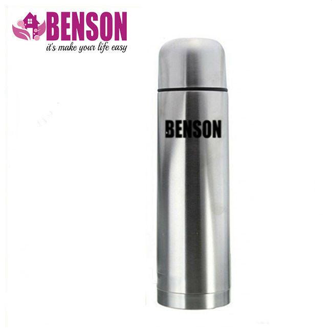 Вакуумный термос из нержавеющей стали Benson BN-51 500 мл   Серебро