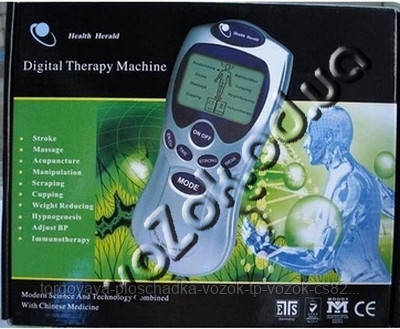 Электронный массажер миостимулятор Digital Therapy Machine ST-688