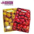Обробна дошка для нарізки Benson BN-026 | Жовта, фото 2