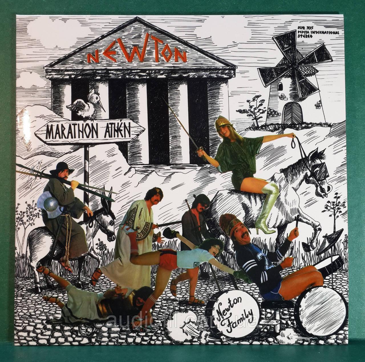 CD диск Newton Family (Neoton Familia) - Marathon (англоязычная версия), фото 1
