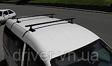 Багажник в штатні місця, планки з кріпленням (сталь) 140см \ 90кг. (Kangoo, Caddy)
