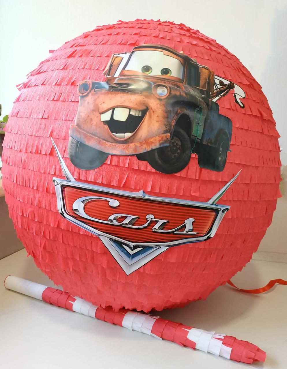 Пиньята - шар с сюрпризом Тачки Метр