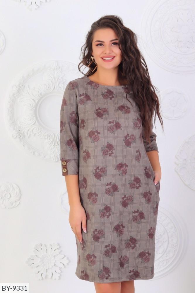 Стильне плаття (розмір 48-52) 0215-83