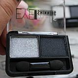 Тени для век MEIS Shining Eyeshadow двойные ⠀, фото 5