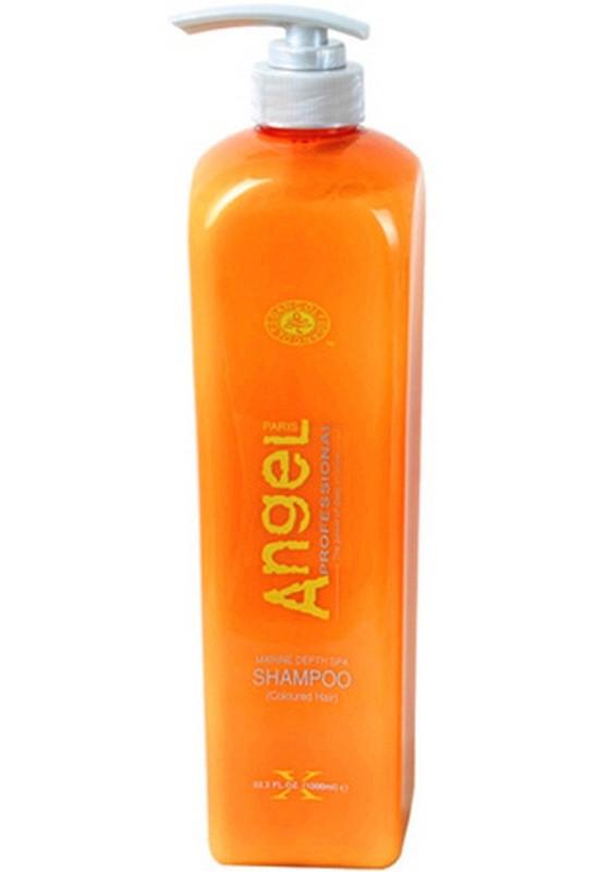 Безсульфатный Шампунь для жирных волос Angel Professional, 500 мл