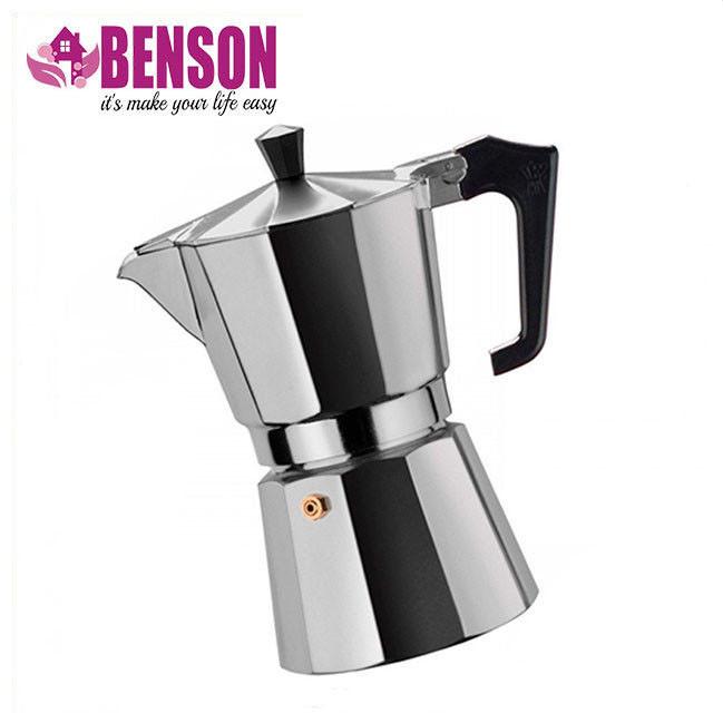 Гейзерная кофеварка из кованого алюминия - 9 чашек Benson BN-157
