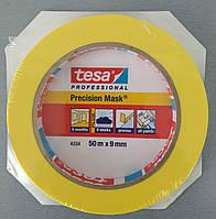 Малярная лента для четких границ окрашивания tesa precision mask 50м 9мм