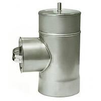 Дымоходная ревизия с термоизоляцией к/оц, 0.5мм