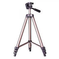 Универсальный штатив-трипод Weifeng WT-3130 для GoPro, камеры, фотоаппарата, телефона