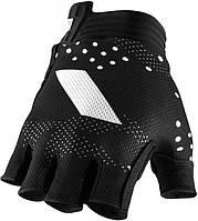 Вело перчатки RIDE 100% EXCEEDA Gel Short Finger Glove [Black], M (9)