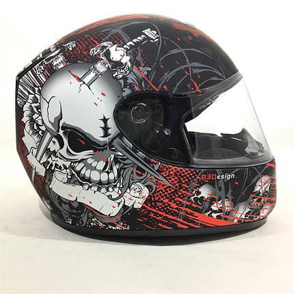 ШЛЕМ Viper RS-250 Skully Helmet, фото 2