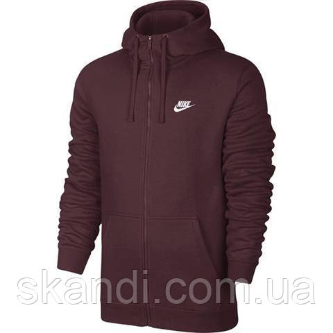 Толстовка мужская Nike M NSW Hoodie FZ FLC Club 804389