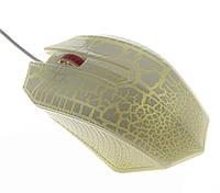Компьютерная игровая мышка UKC X10 с подсветкой белая
