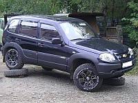 Дефлектора окон Chevrolet NIVА 2002-
