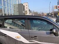 Дефлектора окон Chevrolet Orlando, 2011-, 4ч, темный