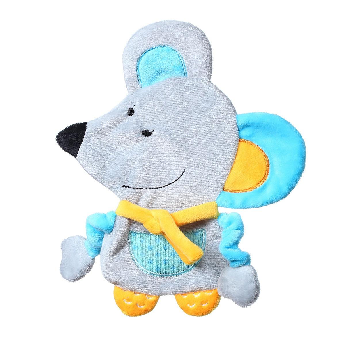 Игрушка-обнимашка с шелестением  мышонок Кирстин Baby Ono (445)